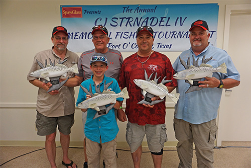 Cj strnadel iv memorial fishing tournament spawglass for Fishing tournaments in texas 2017