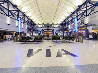 Valley International Airport Flooring Replacement