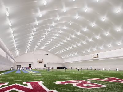 Texas A&M University McFerrin Athletic Center and Rhonda and Frosty Gilliam Jr. '80 Indoor Track Stadium