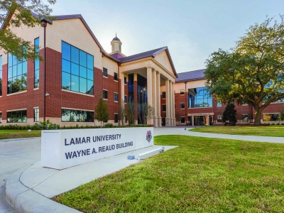 Lamar University Wayne A. Reaud Building