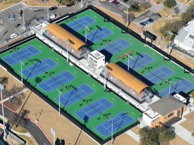 The University of Texas at Austin Texas Tennis Center Replacement